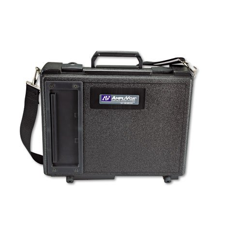 AmpliVox S222 Audio Portable Buddy Professional PA System w/Pro Wired Mic & 15-ft. Cable