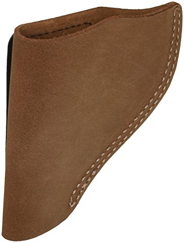 (Bianchi, 6 Waistband Holster, Natural Suede, Size 13, Right Hand )