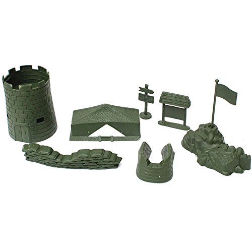 George Jimmy Toy Gifts Toy Soldiers/Cars/Trucks /Tractors/Toy Guns Models -7 PCS ()