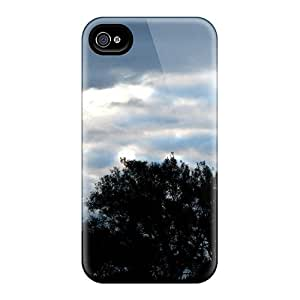 Durable Case For The Iphone 4/4s- Eco-friendly Retail Packaging(morning Clouds)