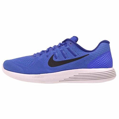 Nike Mens Lunarglide 8, Racer Blu / Nero - Dp Royal Blue Racer Blu / Nero - Dp Royal Blue