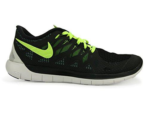 Nike Heren Gratis 5.0 Loopschoen Volt / Zwart / Electrische Groen