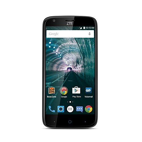 ZTE Warp 7 - Retail Packaging (Boost Mobile) - Carrier Locked - (Boost Mobile Zte Warp 7 Prepaid Smartphone)