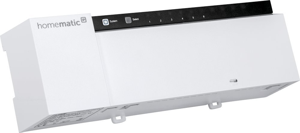 Homematic IP Fu/ßbodenheizungsaktor intelligente Fu/ßbodenheizung auch per App 24 V 143238A0 10-fach