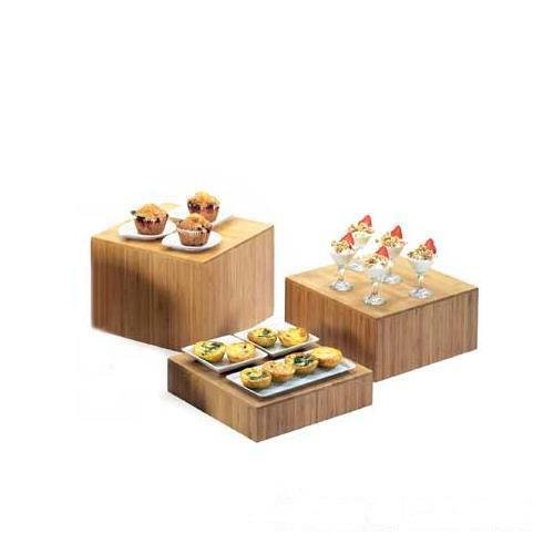 Cal-Mil 432-6-60 Bamboo Cube Riser, 6''H