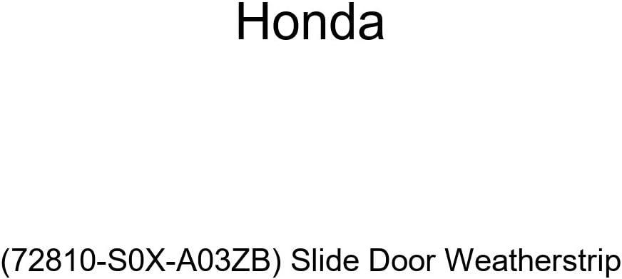 Honda Genuine Slide Door Weatherstrip 72810-S0X-A03ZC
