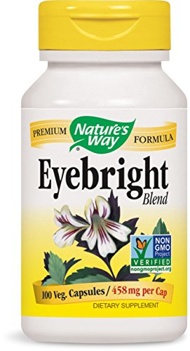 Nature'S Way Herbal Eyebright 100 Cap ()