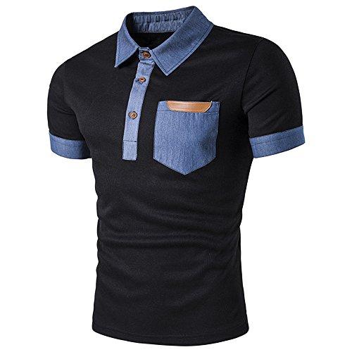 (トレジャーボックス) Treasure Box ゴルフウェア メンズ ポロシャツ 半袖 オフィス