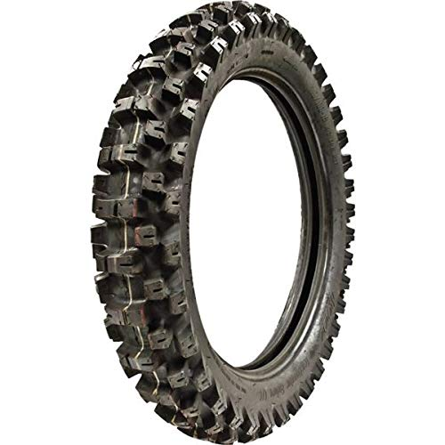 MOTOZ Tractionator Enduro IT 120/90-18 Dual Sport Motorcycle Tire, DOT