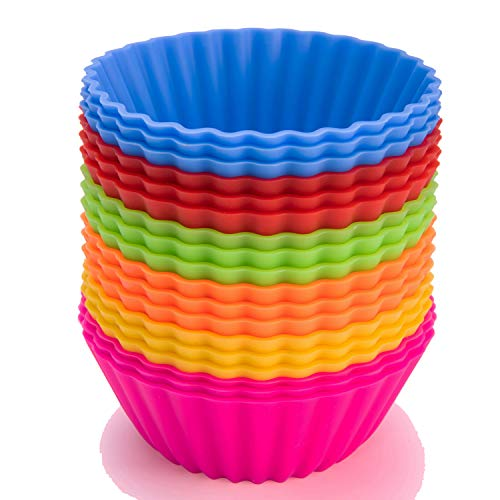 SAWNZC Silicone Reusable Cupcake Non stick product image