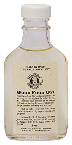 Kramer's Best Wood Food Oyl (3oz.)