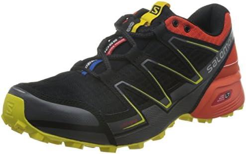 Salomon L38314200, Zapatillas de Trail Running para Hombre, Negro ...