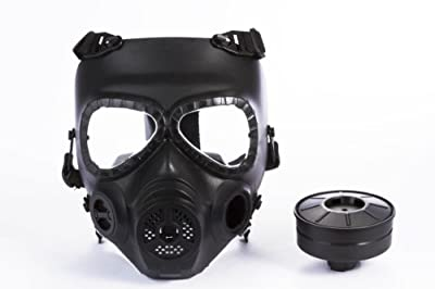 Gas Mask Model: Skull Style Gas Mask for Outdoor War Games - Black by Homejoy :: Gas Mask Bag :: Army Gas Masks :: Best Gas Mask