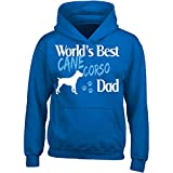 Cane Corso World's Best Dog Dad, Pet Owner - Adult Hoodie M Royal