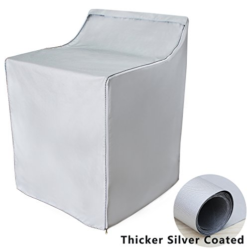 [Mr.You]Washer/Dryer cover for top-load and front load machine waterproof dustproof Thicker W29D28H40in