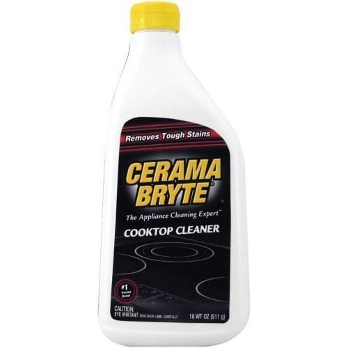 1 - Ceramic Cooktop Cleaner (28oz Bottle), Ceramic cooktop cleaner, Safely & easily removes tough stains, 20928-2 by Cerama Bryte by Cerama Bryte