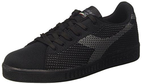 Uomo Basso Nero Weave Game Diadora Collo A Sneaker F78wgqqv