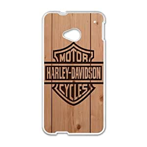 HTC One M7 Phone Cases White Harley Davidson ERG729945