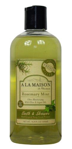 A La Maison Body Wash - Rosemary Mint- 16.9 fl oz - Liquid Soap Rosemary Mint