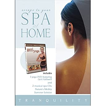 Amazon.com: Spa at Home: Geribody Yoga with 2 CDs: Natures ...