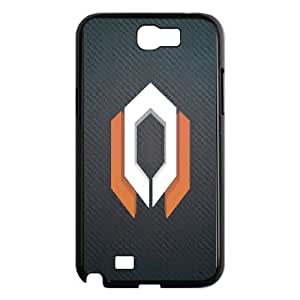SamSung Galaxy Note2 7100 phone cases Black Mass Effect cell phone cases Beautiful gifts NYU45760989