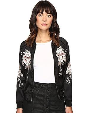 Womens Bird Bomber Jacket