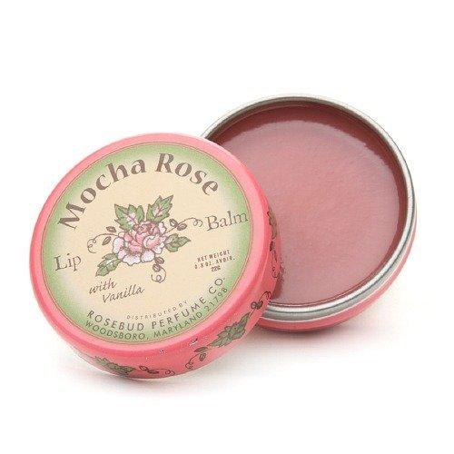 Rosebud Perfume Co. Mocha Rose Lip Balm 0.8 oz (22 g)