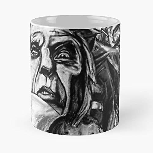 Horr - Morning Coffee Mug Ceramic Novelty Holiday ()