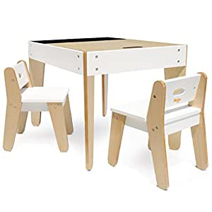 p 39 kolino little modern tables and chairs white table chair sets. Black Bedroom Furniture Sets. Home Design Ideas