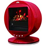 WBM 2000W Round Heater, Red