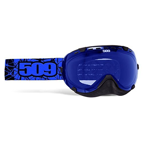 509 Aviator Snow Snowmobile Goggles - Blue - Blue Tint Lens - 509-AVIGOG-16-BL by 509