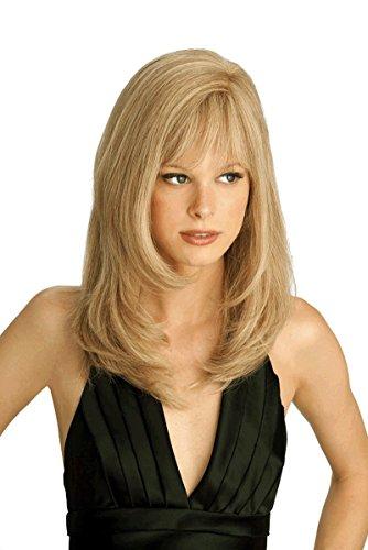 Louis Ferre - Amber Human Hair Monotop Wig - Petite/Average -WHEATBLONDE (Amber Wig)