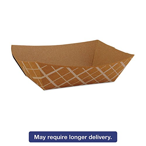 (Southern Champion Tray 0513 #100 ECO Kraft Paperboard Food Tray / Boat / Bowl, 1-lb Capacity (Case of)