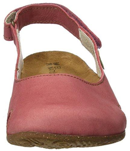 El Naturalista N413, Sandalias con Punta Cerrada para Mujer Rosa (Sandalo)