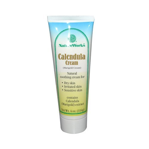 - NatureWorks Calendula Cream (Marigold) 4 Ounces ( 8 Pack )