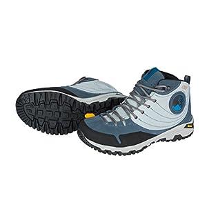 Mishmi Takin Jampui Mid Event Waterproof Light & Fast Hiking Shoe (EU 37/US W 6.5, Blue Jean)