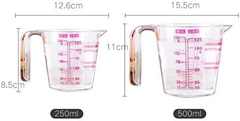 HENGTONGWANDA Measuring Cup, Double Scale Cup Measuring Cup, Cup