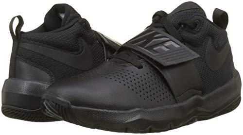 Nero gs 8 Hustle Team Da Scarpe black Bambino Basket D black Nike Iapzwqa