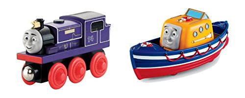 Thomas & Friends 2-Pack Take-n-Play Trains, Charlie & Captai
