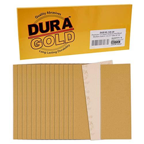 16 Lijas Dura-Gold 11.4cm x 28cm Grano 120