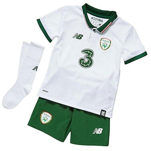 New Balance FAI Republic of Ireland 2017/18 Away Kit - Infants - White - Age 6-7