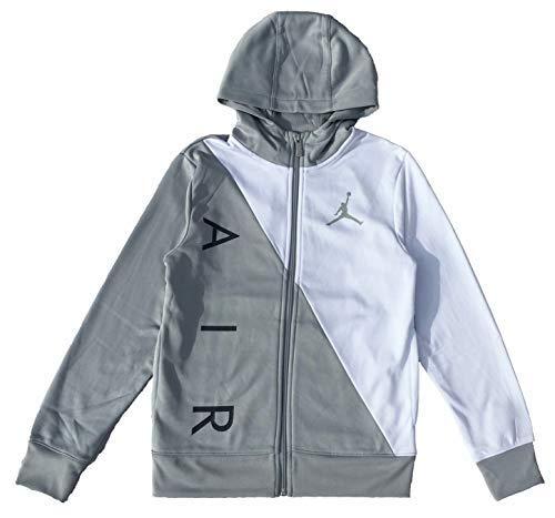 Jordan Air Boys Youth Therma-Fit Zip Hoodie Jacket Size S, M, L, XL (Small - Hoody Jordan Air Jacket