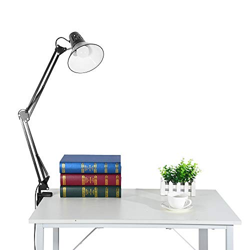 - Weiliru Shipped from US, Faster Arrival Metal Desk Lamps Adjustable Goose Neck Architect Table Lamp/Swing Arm Desk Lamp/Study Lamp Eye Protector