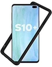 RhinoShield Ultra Protective Bumper Case for Samsung Galaxy S10 Plus CrashGuard, Military Grade Drop Protection for Full Impact, Slim, Scratch Resistant, Black