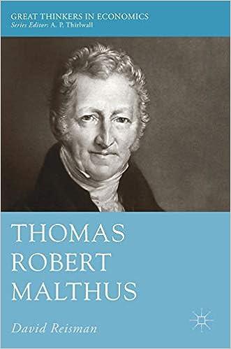 thomas malthus contribution to economics