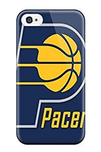 New Indiana Pacers Tpu Skin Case Compatible With Iphone 4/4s