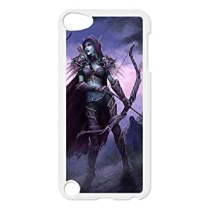 Protective TPU cover case world of warcraft iPod Touch 5 Case White