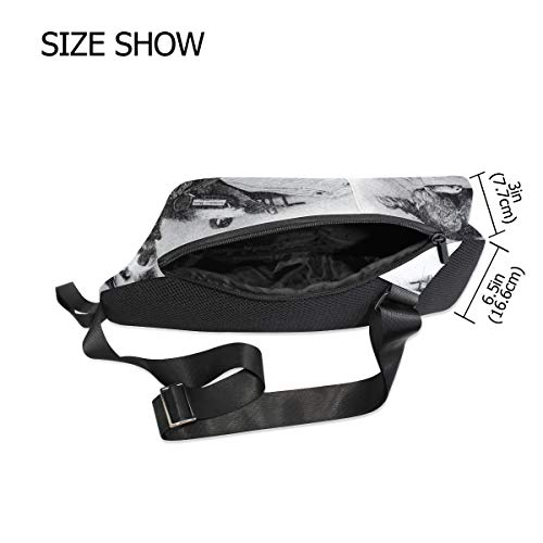 Backpack Body Waterproof For Chest amp; Women Bag Bennigiry Shoulder Mail Cross Dog Small Sling Men qaHU4I