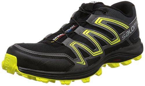 black Spring Sulphur Homme Chaussures Trail De Salomon Magnet Speedtrak Noir 000 wU46zBYq