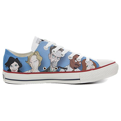 Converse All Star CUSTOMIZED , Sneaker Unisex, printed Italian style Slim Comics Dott. House